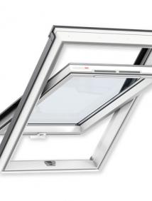 Окно GLP ПВХ VELUX 0073 BIS (ручка открывания снизу)